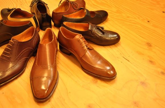 靴職人の手仕事展出展者 handmade shoes Nelio